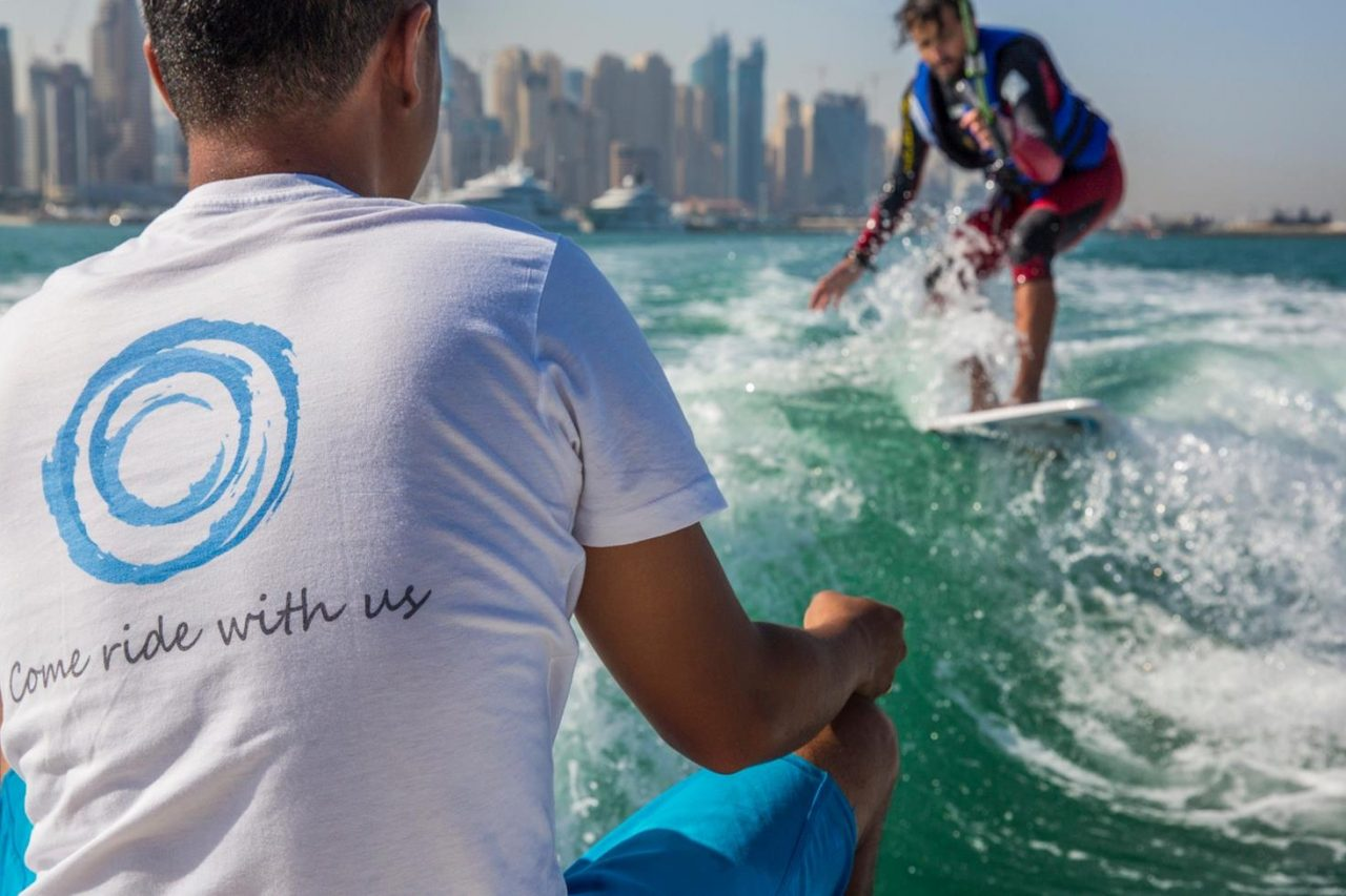 Wake Warriors wakeboarding and wakesurfing in Dubai