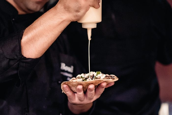 Boubouffe best shawarma in Dubai