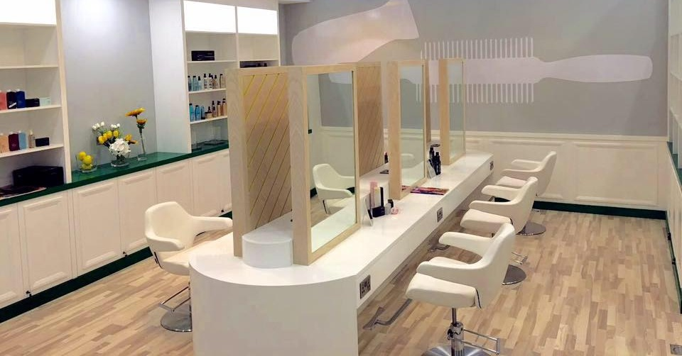 The BlowOut Bar blow dry salon in Dubai