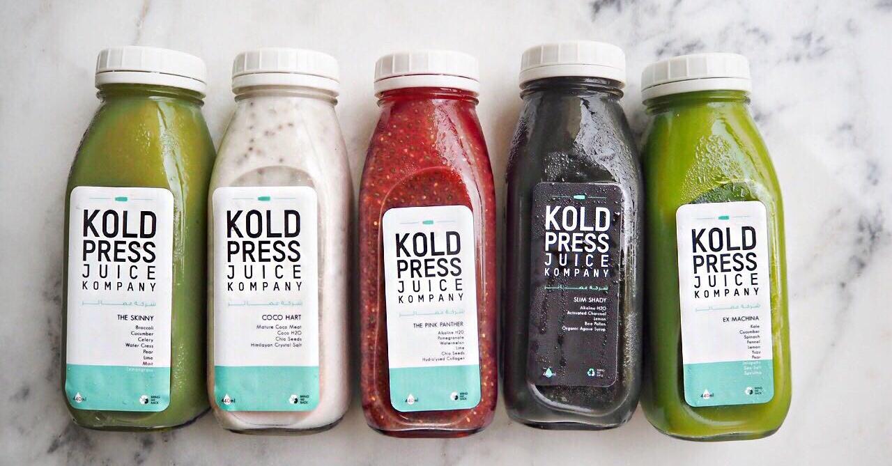 KoldPress Juice Kompany detox diet
