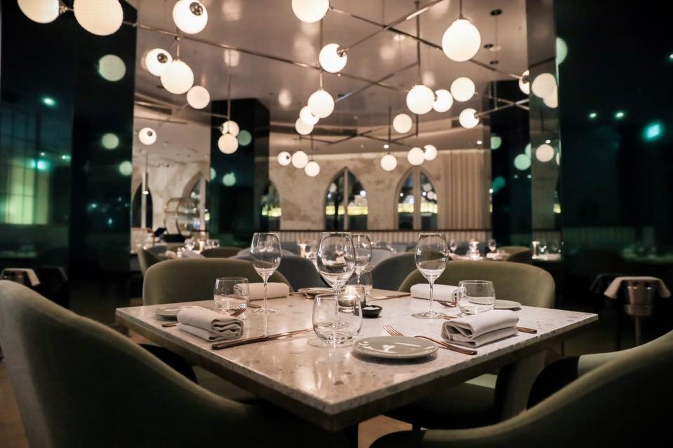 The Atlantic seafood restaurant Dubai