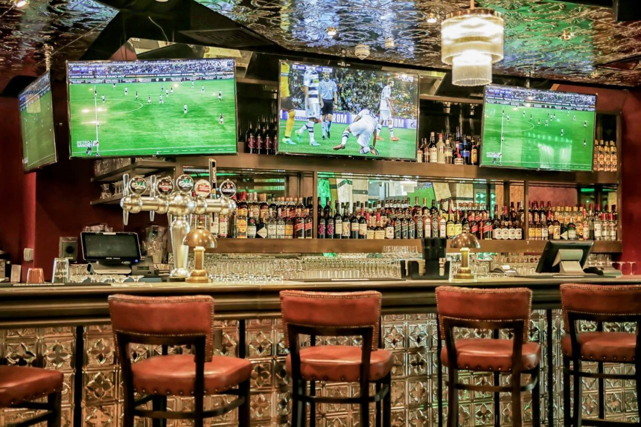 McGettigans sports bar in Dubai