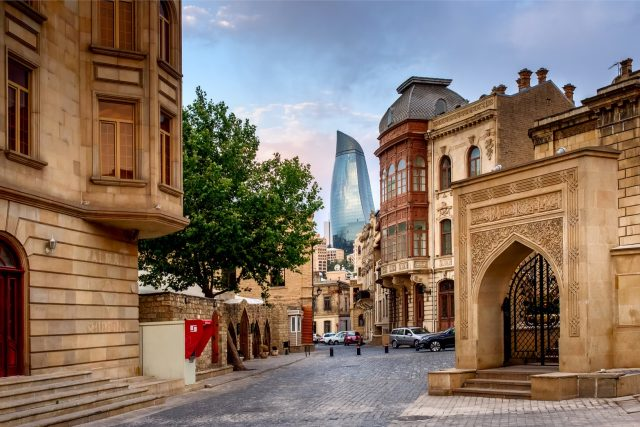 Baku weekend getaways from Dubai
