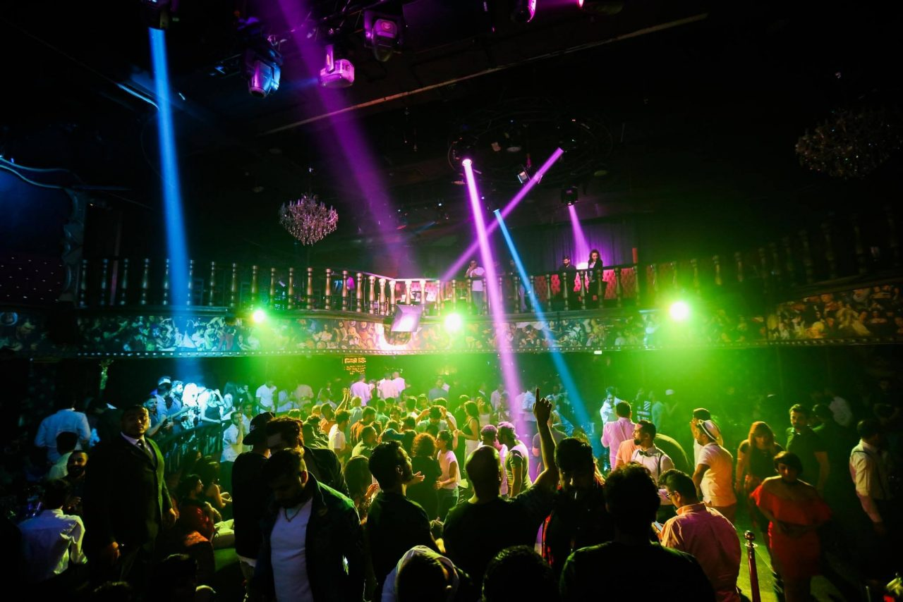 Drama Arabic night club Dubai