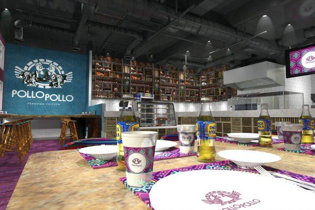 Pollo Pollo Peruvian restaurant Dubai