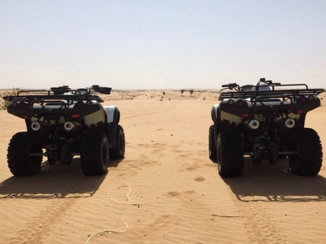 Desert Rangers quad biking in Dubai