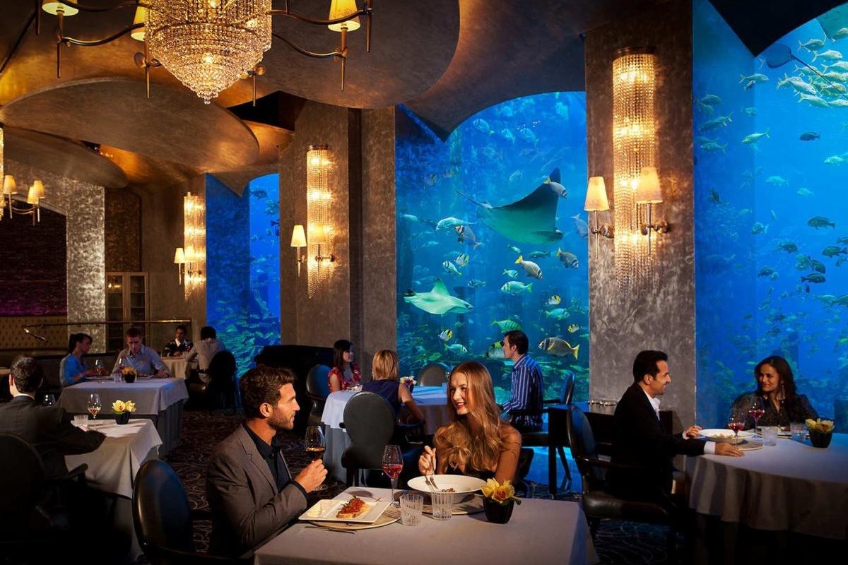 Ossiano restaurant Atlantis Dubai