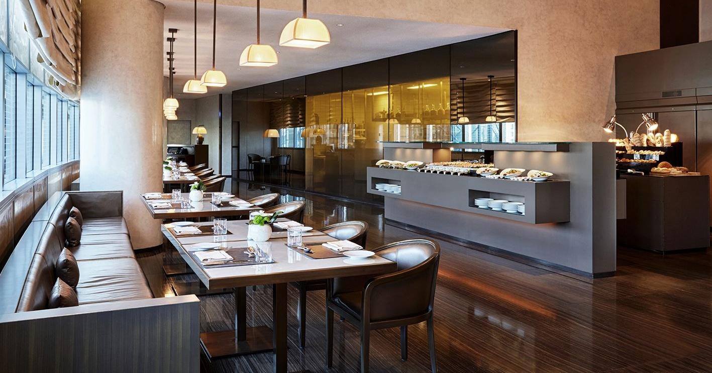 Armani/Mediterraneo and Burj Khalifa restaurants at Armani Hotel Dubai