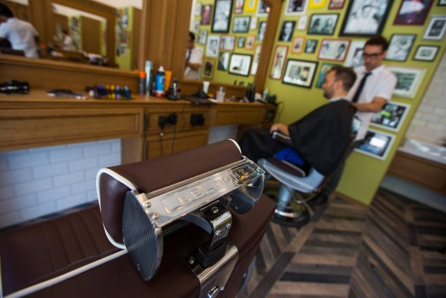 Julian Hairdressing mens barber shop in Dubai