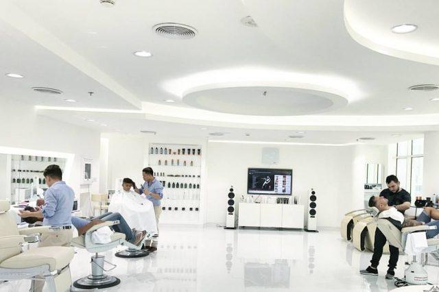Skills by Barber Mo mens barbershop Dubai