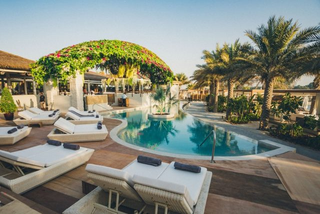 El Chiringuito beach club Dubai
