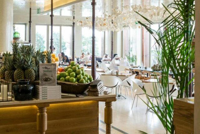 Tasha's best healthy lunch spot in Dubai