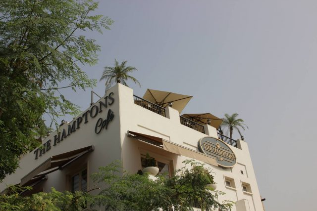 The Hamptons best lunch spot in Dubai