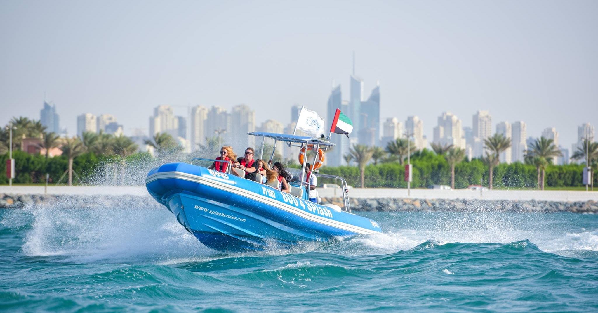 Splash Tours boat cruise Dubai