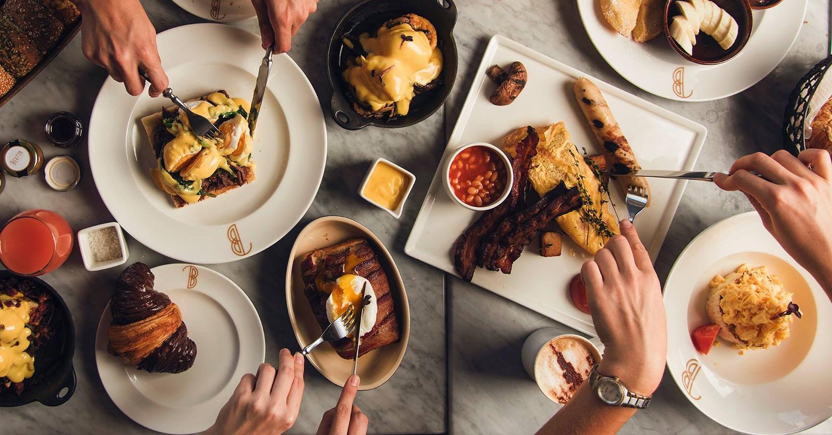 Bertin Bistro all-day breakfast in Dubai