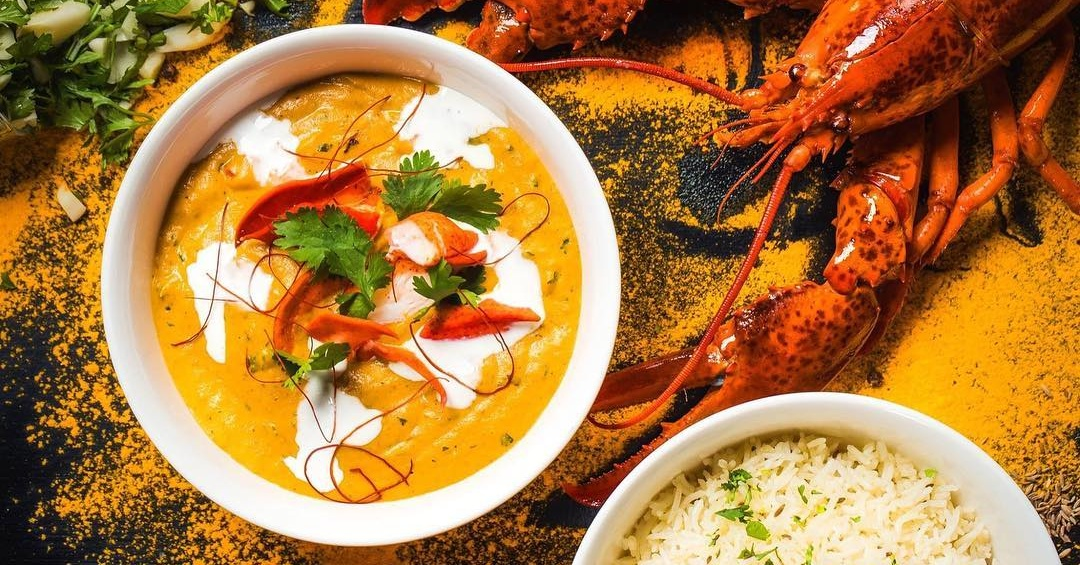 Burger and Lobster Dubai have introduced the new Lobster Tikka Masala
