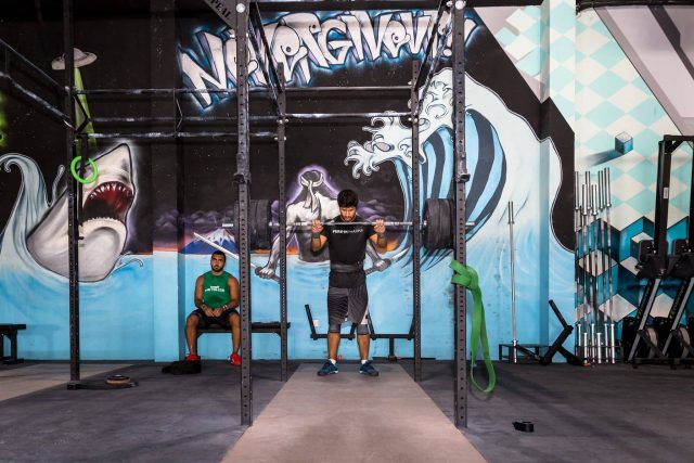 Crossfit Metalize gym in Dubai