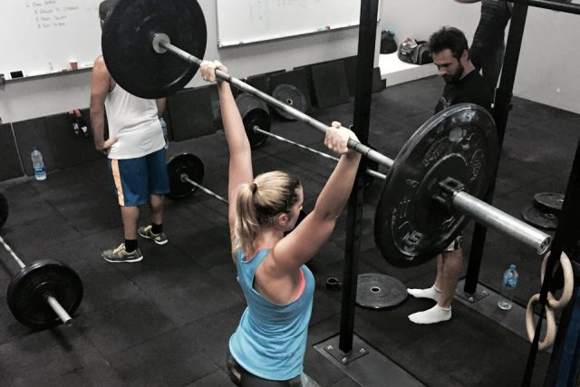 Business Bay CrossFit gym Dubai