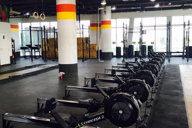 Crossfit Sands gym in Dubai