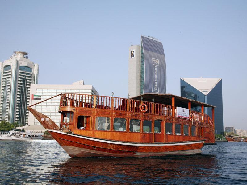 Cruises Dubai dhow boat cruise