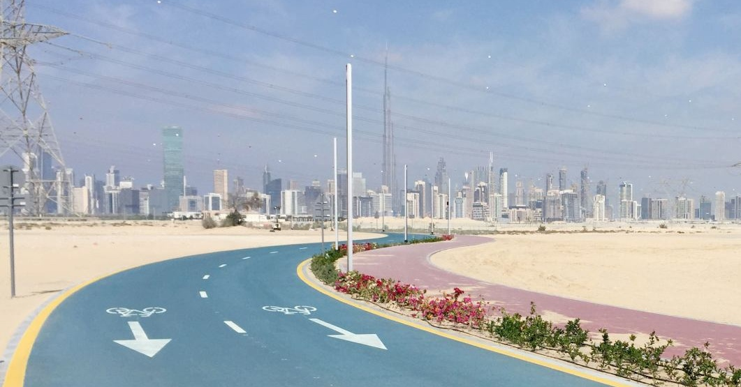 Nad Al Sheba Cycle track in Dubai