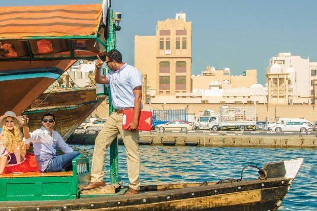 Arabian Adventure dhow cruise Dubai Creek
