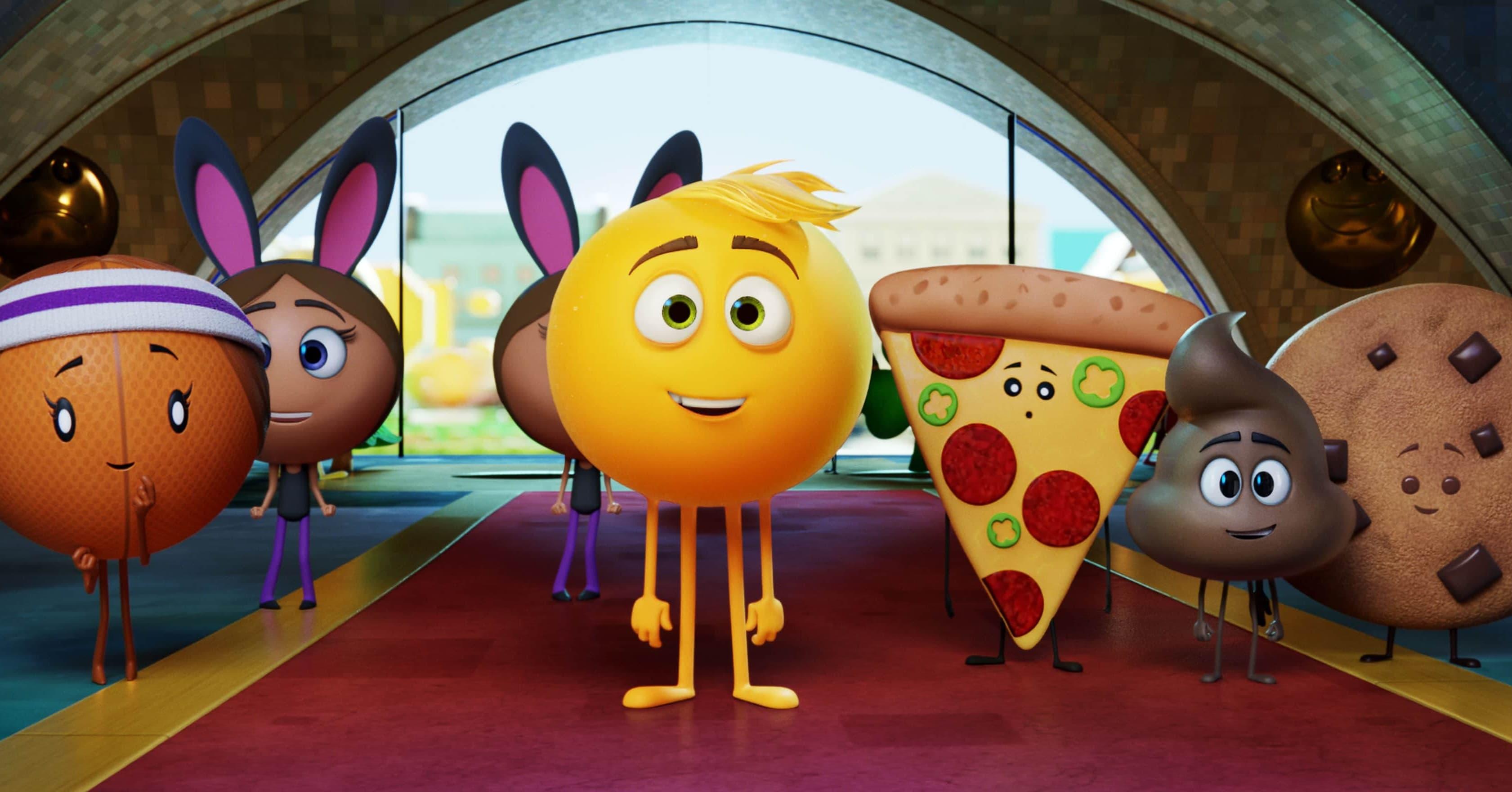 Emoji movie in cinemas