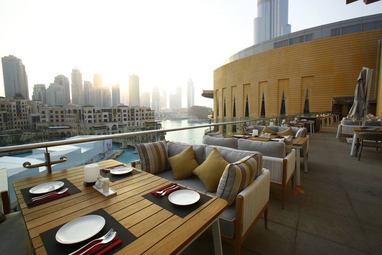 Le Ten Dubai Mall Restaurants