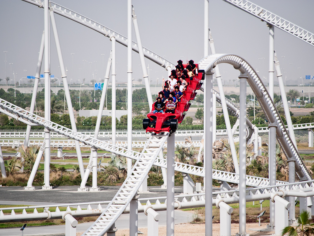 Formula Rossa at Ferrari World Abu Dhabi