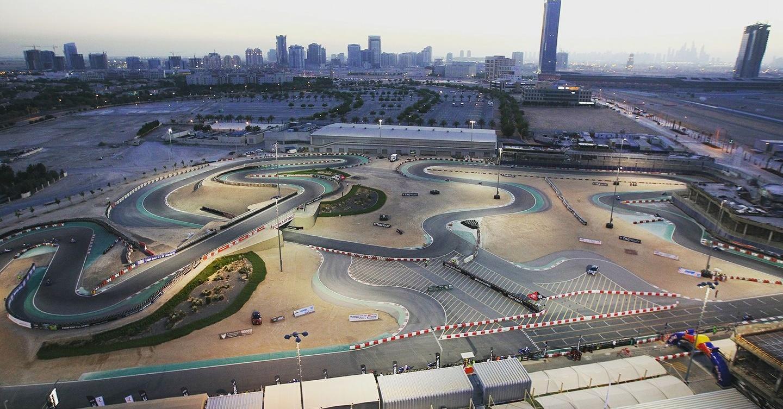 Go karting Dubai Autodrome