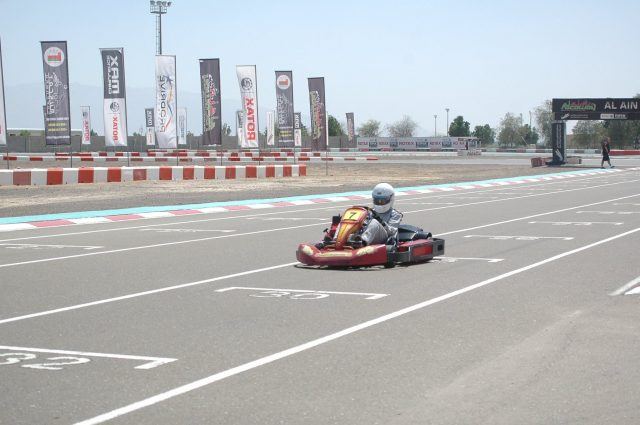 Al Ain raceway go karting in Dubai