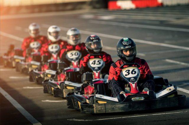 Al Forsan go karting Dubai