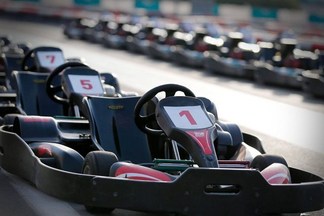 YAS KartZone go karting in UAE
