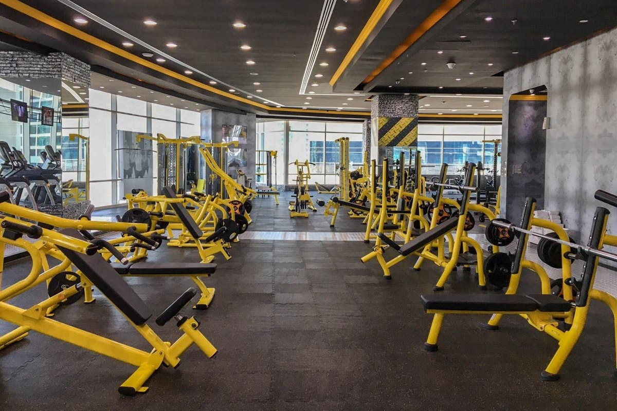 EMD Fitness gym in Dubai