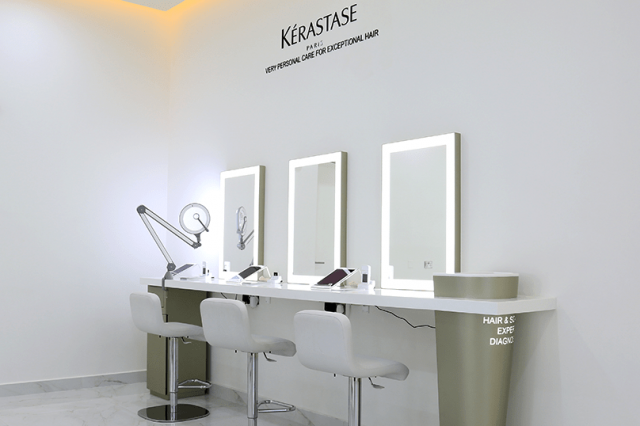 Kérastase Institute hair salon Dubai