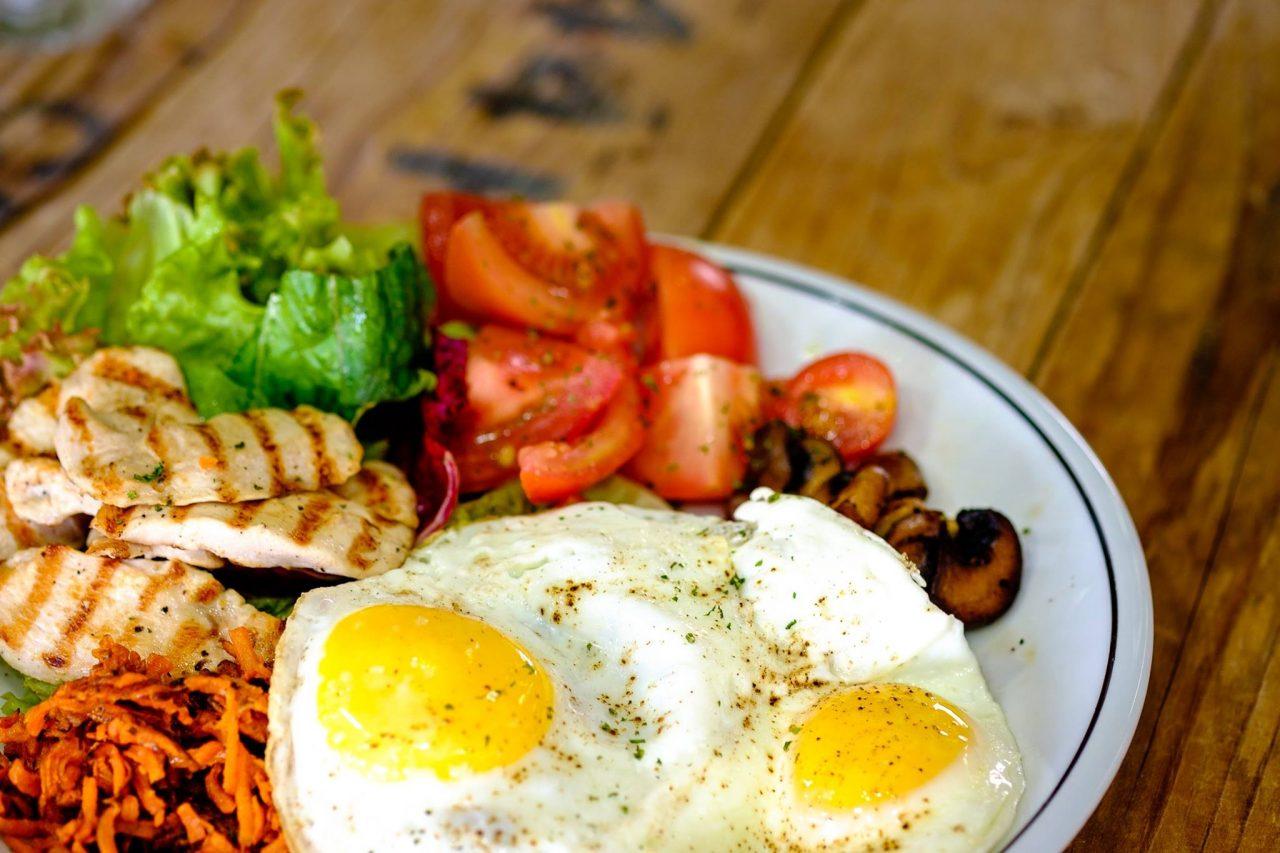 The Cycle Bistro healthy paleo breakfast in dubai