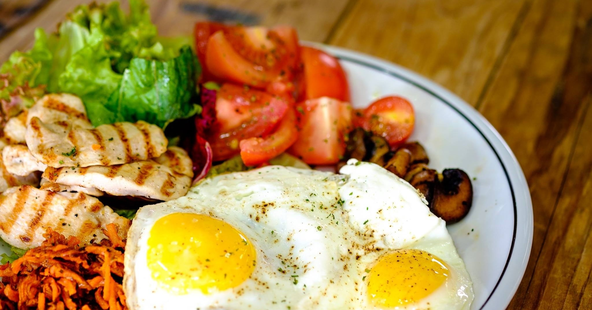 The Cycle Bistro healthy paleo breakfast in dubai