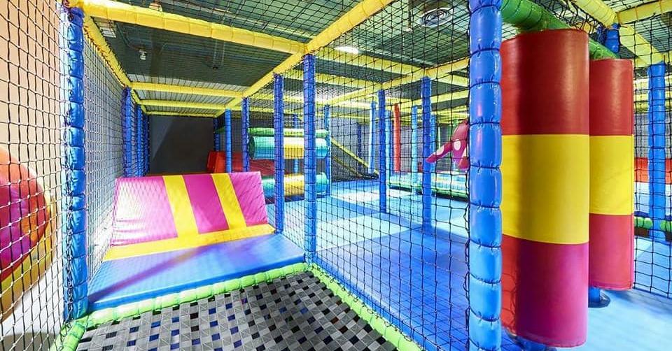 Kidz Palooza indoor play area Dubai