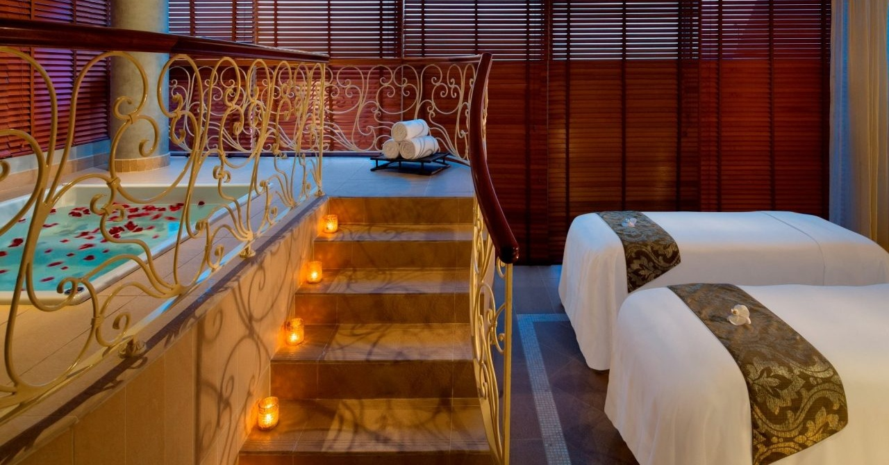 Raffles Spa massage Dubai