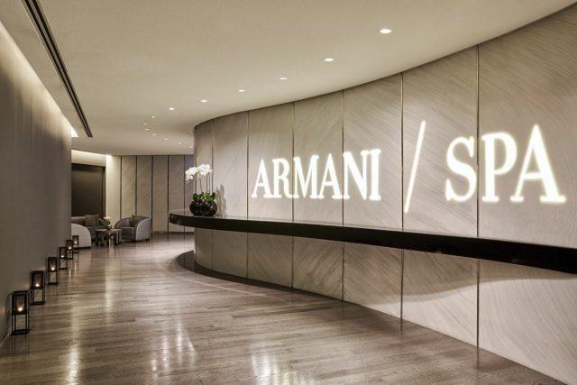 Armani Spa mens grooming salon Dubai