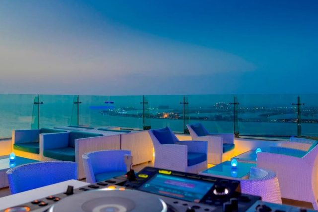 Pure Sky Lounge sunset brunch in Dubai