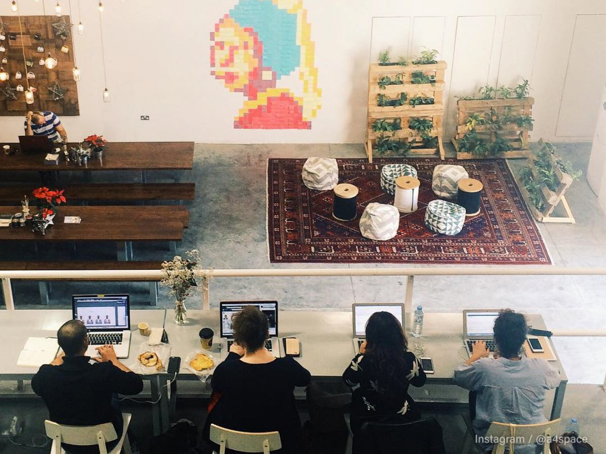 A4 space best place to work outside of office Dubai