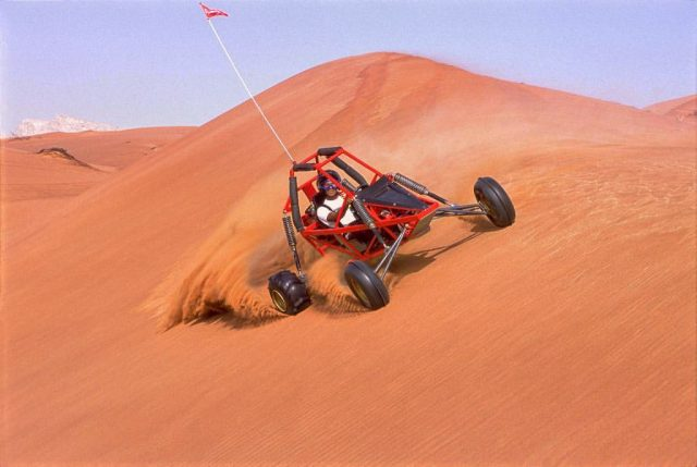 Explorer Tours quad biking in Dubai