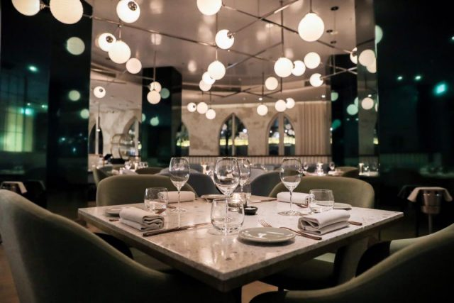 The Atlantic seafood restaurant in Dubai