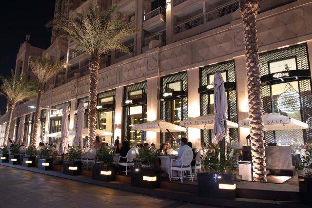 Al Hallab seafood restaurant in Dubai