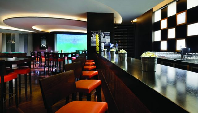 West Beach Bistro sports bar Dubai