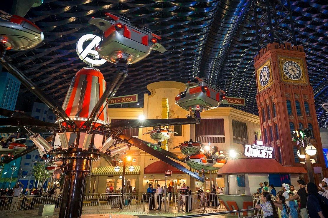 IMG Worlds Dubai theme park
