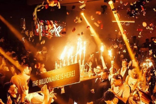 Billionaire Mansion top Rnb and Hip Hop club night Dubai