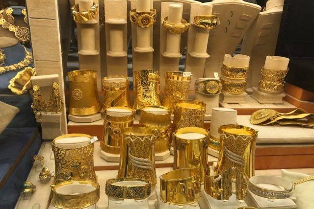 Dubai Gold Souk tourist attraction