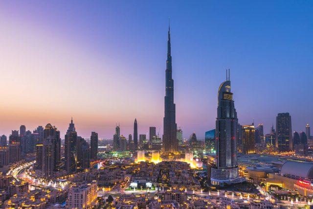 Burj Khalifa tourist attraction Dubai